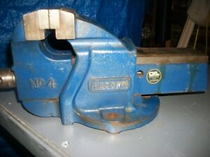 Heavy duty vice and bandsaw