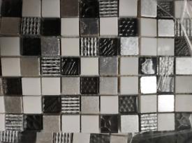 BNIB celina mosaic tile sheets X 10