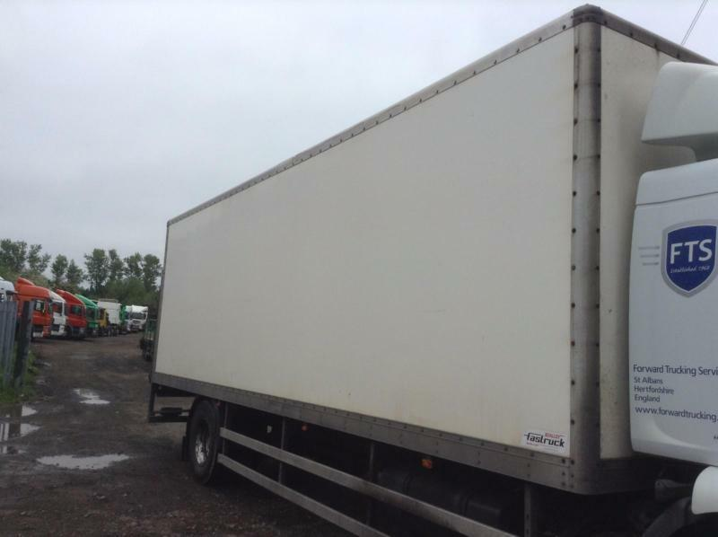 Boalloy Fastrack 28 foot GRP Box Only