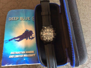Deep Blue Military Sun Diver Pro Diver Watch