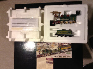 Thomas Kinkade electric train engine
