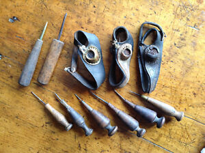 Antique Sail Making Tools