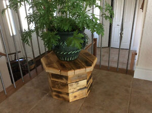 Reclaimed wooden child stool/flowerpot stand/kitchen step/etc.