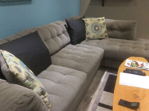 Like new Taupe sectional - Still Available