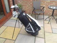 Golf club set + bag