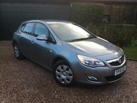 2010 Vauxhall Astra 1.4i 16v VVT ( 100ps ) Exclusiv 5 Door Petrol