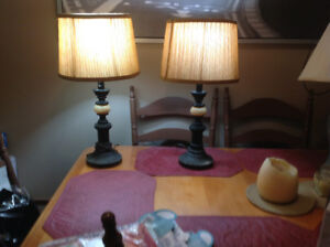 Matching Lamps // Lampes Assortie
