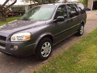 2007 Chevrolet Uplander LS EXT just certified 647 575-7872