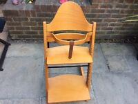 WOODEN STOKKE TRIPP TRAPP HIGH CHAIR
