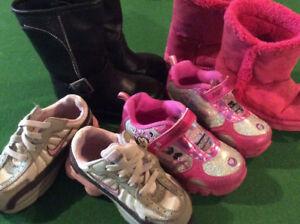 Toddler Girls shoe lot size 8