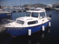 """Two Berth """" Hardy"""" 17ft Cabin Cruiser for sale"""