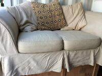 2 seater settee with washable covers