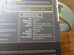 NVidia Geforce 2GB DDR3 Video Card and 4GB RAM Windsor Region Ontario image 8