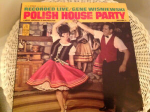More vintage vinyl  polkas, dance records (single record $5.)