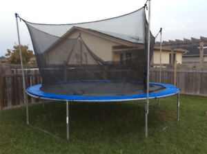 14ft Trampoline for sale!!