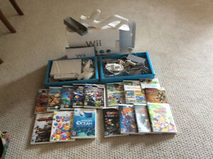 Nintendo Wii system complete with games