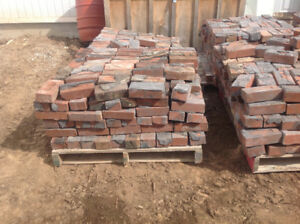 Reclaimed Milton Heritage Red Brick