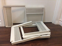 Air conditioner side curtain (3 kits) for window mount