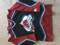 NHL Colorado Avalanche ice hockey jersey