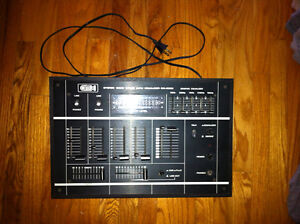 AMX Stereo disco mixer with equalizer SM-5000