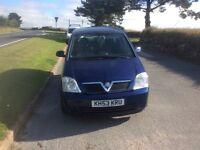 Vauxhall Meriva 1.6 77,000 2003
