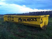 Rolloff Dumpster and Bin Rental Service, Scrap Metal, Garbage