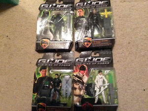 Gi Joe  rise of cobra figures