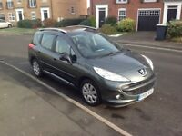 Peugeot 207 SW Estate 09 1.4 petrol