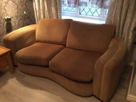 Large Settee Gold