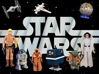 In search of vintage Star Wars toys.
