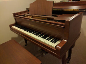 Steinmayer baby grand piano