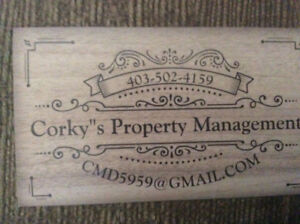Corky's property management has openings for full care.