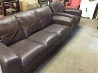 Brand new leather sofa and chair