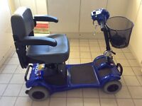 Mobility scooter dissmantles immaculte condition new batteries