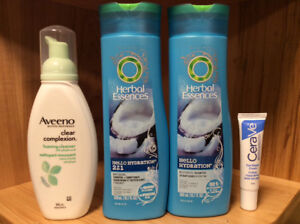 Cerave, Herbal Essence, Aveeno Products