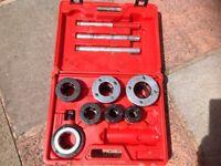 Rothenburger pipe threading kit.