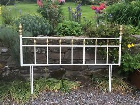Brass and metal kingsize(5ft) Headboard
