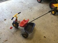 FREE children's push along tricycle