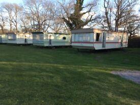 Caravans for long let on a quiet caravan park near Forres in Morayshire