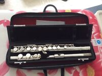 FULLY SERVICED Pearl PF-521 flute
