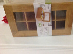 Bamboo storage box/chest for tea, Jewelry, hair accessories (NEW