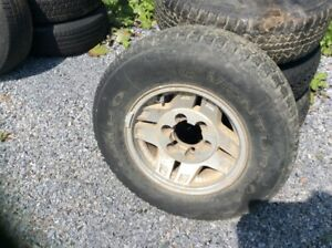 4 Toyota 4 Runner Mag Wheels with 225-75 R15 Tires