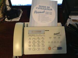 télécopieur fax et téléphone combiné