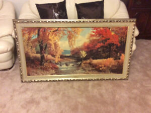 Beautiful picture with frame