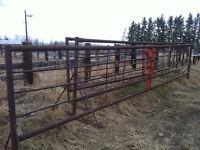 24 Foot Fencing Panels/Portable Alley