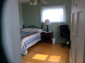 Several rooms available for short term rental