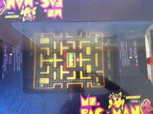 Ms. Pacman table too