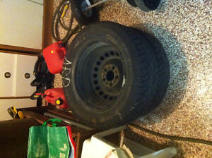 4 mounted winter tires General Altimax - incl. tires & rim nego.