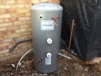 Copperform Ultrasteel 180 litre unvented water cylinder