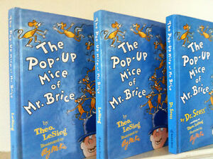 ▀▄▀Dr. Seuss 5 Books - The Pop-Up Mice of Mr. Brice-Brand New.